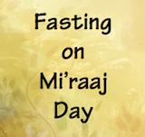 Fasting on 27 Rajab