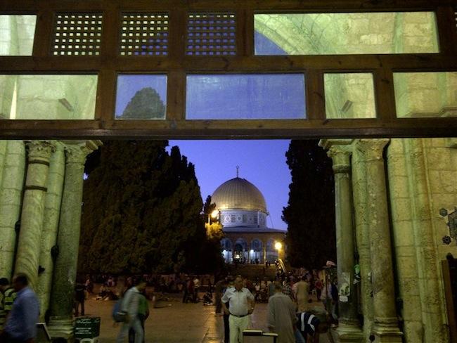 At al-Aqsa