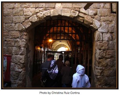 Checkpoint at Khalil_Ibrahimi Mosque