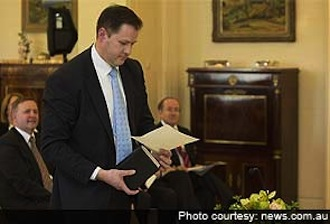 First Aussie Muslim Minister slammed for taking oath on Quraan