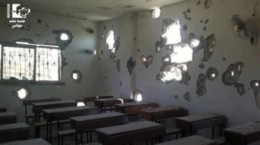 Syria-One-of-Syrias-Damaged-Schools