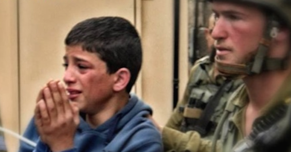 palestinian child prisoners